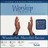 Wonderful, Merciful Savior - Medium key performance track w/ background vocals [Music Download]