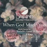 When God Made You, Accompaniment CD