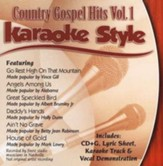 Country Gospel Hits, Volume 1, Karaoke Style CD
