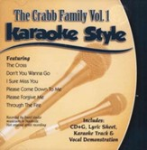 The Crabb Family, Volume 1, Karaoke Style CD