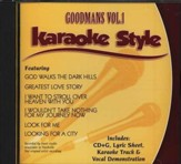 The Goodmans, Volume 1, Karaoke Style CD