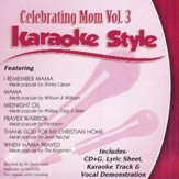 Celebrating Mom, Volume 3, Karaoke Style CD