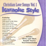 Christian Love Songs, Volume 1, Karaoke Style CD