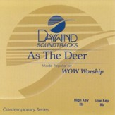 As the Deer, Acc CD