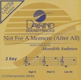 Not for a Moment (After All) Acc, CD