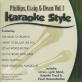 Phillips, Craig & Dean Vol 1, Karaoke CD