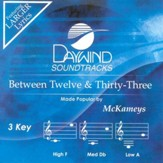 Between Twelve & Thirty-Three, Accompaniment CD