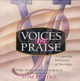 Voices In Praise, A Capella Moments,Stereo CD