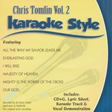 Chris Tomlin Vol.2 Karaoke CD