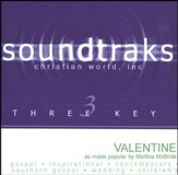Valentine, Accompaniment CD