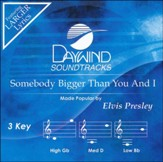 Somebody Bigger Than You & I, Acc CD