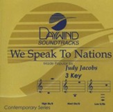 We Speak To Nations, Accompaniment CD