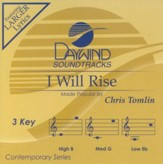 I Will Rise, Accompaniment CD