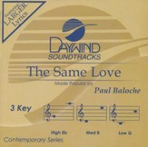 The Same Love Acc, CD