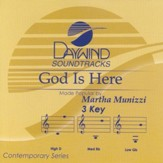 God Is Here, Accompaniment CD