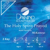 The Holy Spirit Prayed Acc, CD
