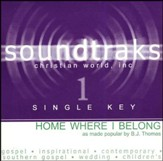 Home Where I Belong, Accompaniment CD
