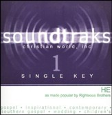 He (Single Key), Accompaniment CD