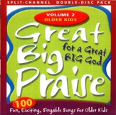 Great Big Praise, Book 2, Split-Channel CD