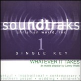 Whatever It Takes (Single Key), Accompaniment CD