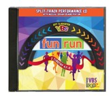 Jeff Slaughter VBS Fun Run 2015: Split-Track Performance CD