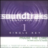 Praise The Lord (Single Key), Accompaniment CD