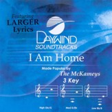 I Am Home, Accompaniment CD