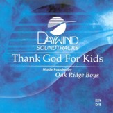 Thank God For Kids, Accompaniment CD