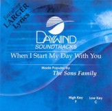 When I Start My Day With You, Accompaniment CD