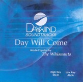 Day Will Come, Accompaniment CD