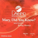 Mary, Did You Know? Accompaniment CD
