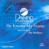 He Knows My Name, Accompaniment CD