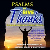 Psalms To Give Thanks: CD