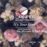 It's Your Love, Accompaniment CD