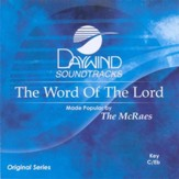 The Word Of The Lord, Accompaniment CD