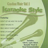 Gordon More, Vol. 1, Karaoke CD