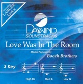 Love Was In The Room, Accompaniment CD