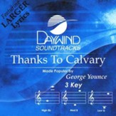 Thanks To Calvary, Accompaniment CD