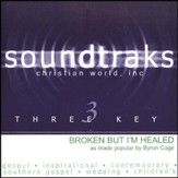 Broken But I'm Healed, Accompaniment CD