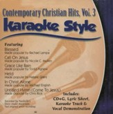 Contemporary Christian Hits, Volume 3, Karaoke Style CD