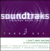 I Don't Mind Waiting, Accompaniment CD
