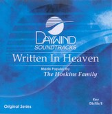 Written in Heaven, Accompaniment CD