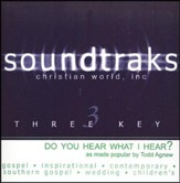 Do You Hear What I Hear? Accompaniment CD