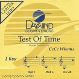 Test Of Time, Accompaniment CD