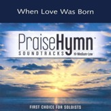 When Love Was Born, Accompaniment CD