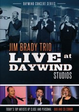Jim Brady Trio Live at Daywind Studios CD/DVD