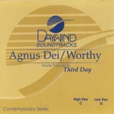 Agnus Dei/Worthy, Accompaniment CD