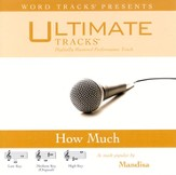 How Much - Medium Key Performance Track w/ Background Vocals [Music Download]