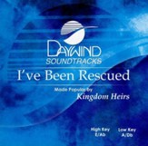 I've Been Rescued, Accompaniment CD