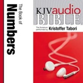 King James Version Audio Bible: The Book of Numbers Performed by Kristoffer Tabori Audiobook [Download]